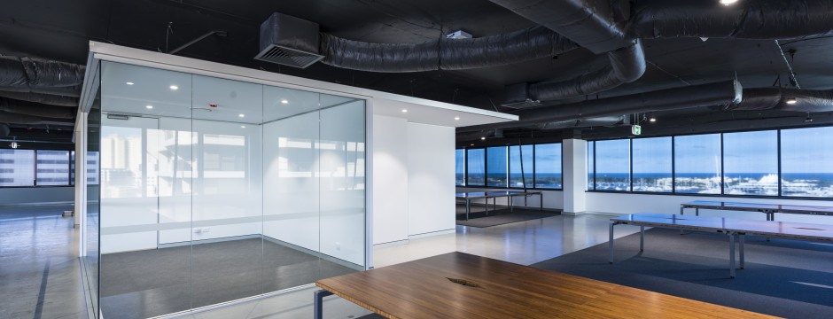 Workspace designed and built commercial office fitout