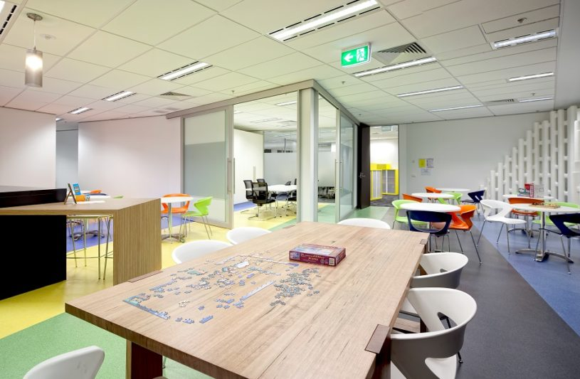 Office design and office fitout ideas aspect interiors for Interior design recruitment agencies brisbane