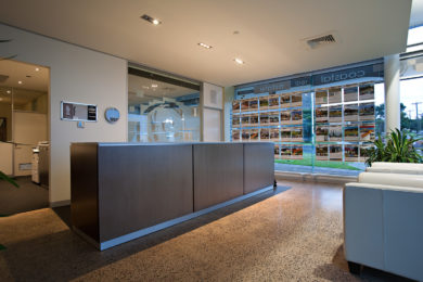 Office fitout aspect interiors office fitouts for Interior design job agency melbourne