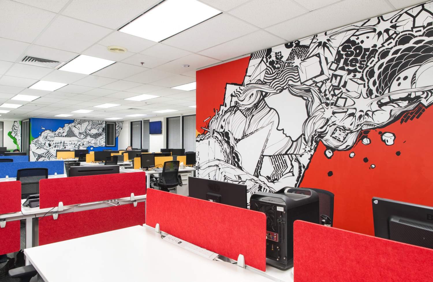 Office design and office fitout in melbourne aspect for Interior design recruitment agencies melbourne