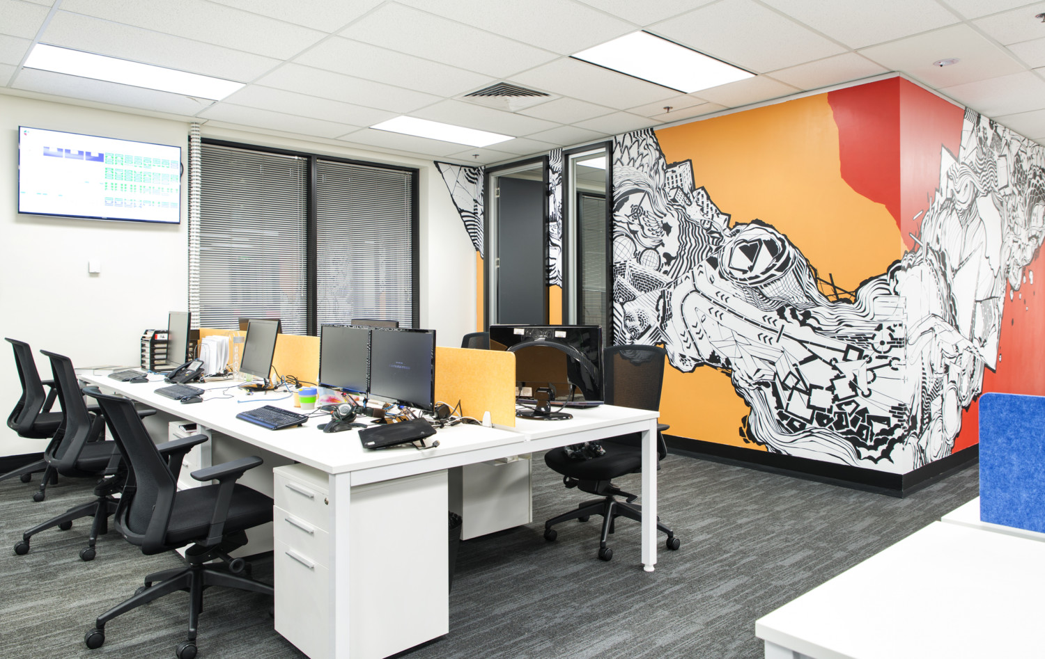 Office interior design melbourne inspiration for Office design news
